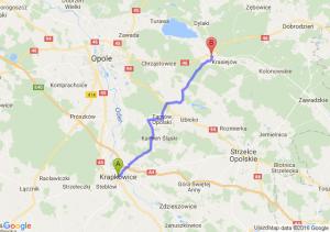 Krapkowice (opolskie) - Ozimek (opolskie)