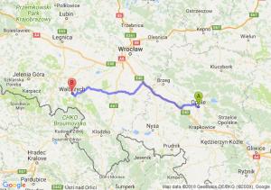 Opole - Wałbrzych