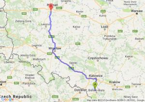 Czechowice-Dziedzice (śląskie) - Puszczykowo (wielkopolskie)