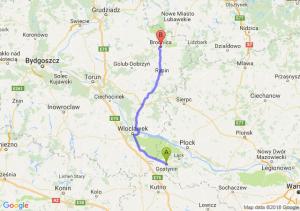 Gostynin - Brodnica