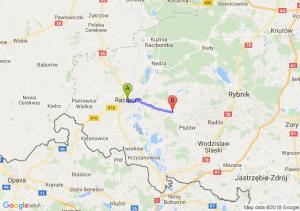 Trasa Racibórz - Rzuchów