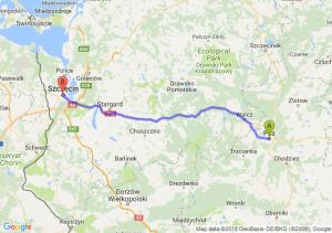 Trasa Piła - Szczecin