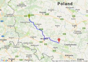Trasa Babimost - Kluczbork