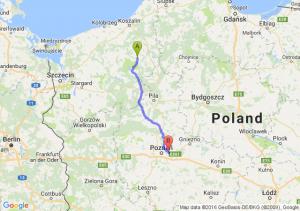Barwice (zachodniopomorskie) - Swarzędz (wielkopolskie)