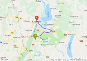 Trasa Radziszewo - Szczecin