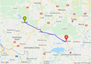 Trasa Rybnik - Pszczyna
