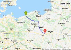 Trasa Koszalin - Łowicz