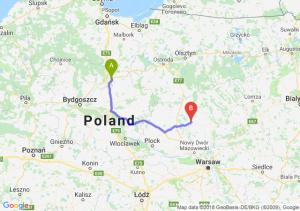 Trasa Grudziądz - Ciechanów