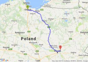 Pruszcz Gdański - Wołomin
