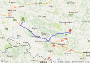 Trasa Brzeg - Myszków