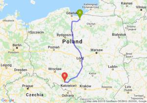 Trasa Elbląg - Krapkowice