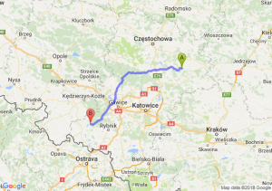 Trasa Bobolice - Nędza