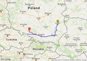 Trasa Lublin - Krapkowice