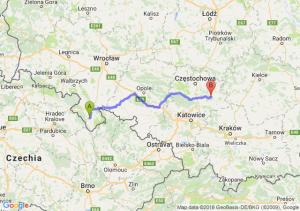 Trasa Bystrzyca Kłodzka - Bobolice