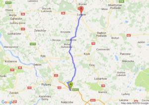 Trasa Markuszów - Łuków