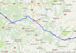 Cybinka (lubuskie) - Leszno (wielkopolskie)