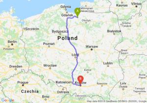 Trasa Pasłęk - Kraków