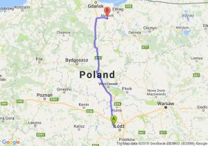 Trasa Aleksandrów Łódzki - Malbork