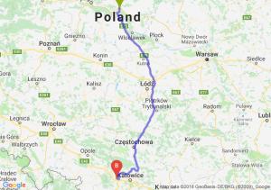 Trasa Lubicz Dolny - Gliwice
