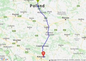 Trasa Lubicz Dolny - Dąbrowa Górnicza