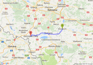 Trasa Oświęcim - Jastrzębie-Zdrój
