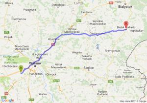 Milanówek (mazowieckie) - Bielsk Podlaski (podlaskie)