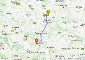 Trasa Brzeziny - Zabrze
