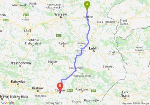 Sokołów Podlaski - Tarnów