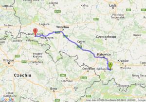 Andrychów - Jelenia Góra