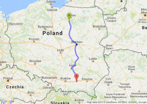 Trasa Olsztynek - Tarnów