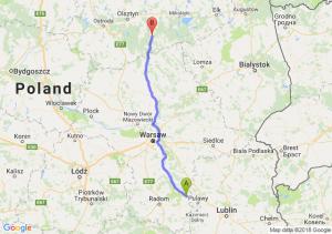 Trasa Bąkowiec - Szczytno