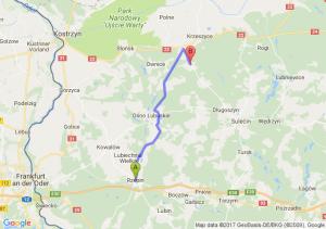 Trasa Rzepin - Muszkowo