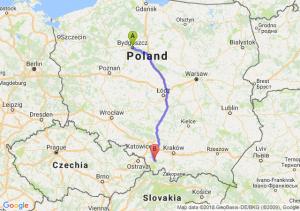 Trasa Bydgoszcz - Bielsko-Biała