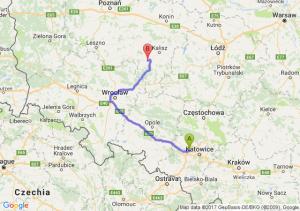 Trasa Zabrze - Ostrów Wielkopolski