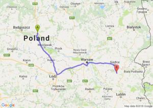 Trasa Lubicz Dolny - Łuków