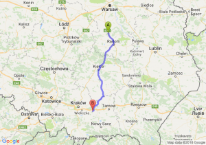 Trasa Białobrzegi - Bochnia