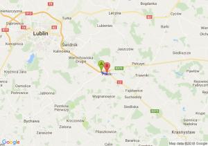 Trasa Kębłów - Piaski