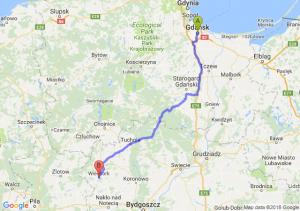 Trasa Gdańsk - Więcbork
