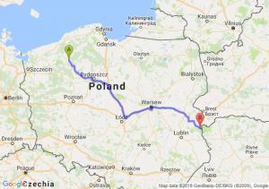 Trasa Szczecinek - Włodawa