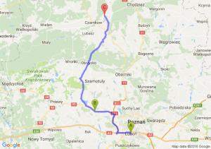 Luboń (wielkopolskie) - Gaj Wielki (wielkopolskie) - Sarbia (wielkopolskie)