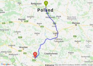 Trasa Lubicz Dolny - Opole
