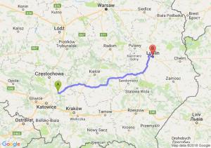 Zawiercie - Lublin