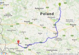 Lidzbark (warmińsko-mazurskie) - Legnica (dolnośląskie)
