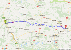 Leszno (wielkopolskie) - Kalisz (wielkopolskie)