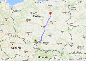 Trasa Racibórz - Ciechanów