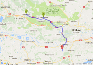 Trzebinia (małopolskie) - Krzeszowice (małopolskie) - Radziszów