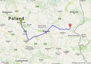 Trasa Włocławek - Siemiatycze
