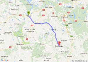 Iława (warmińsko-mazurskie) - Działdowo (warmińsko-mazurskie)