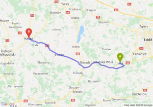 Trasa Łask - Kalisz