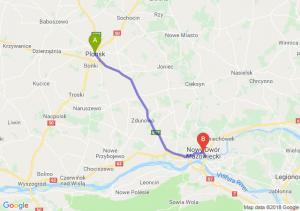 Trasa Płońsk - Nowy Dwór Mazowiecki